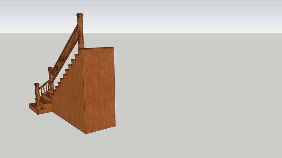 Interior Stairs with Railing