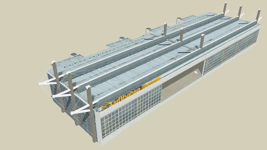 Munich Airport Maintenance Hangar 1