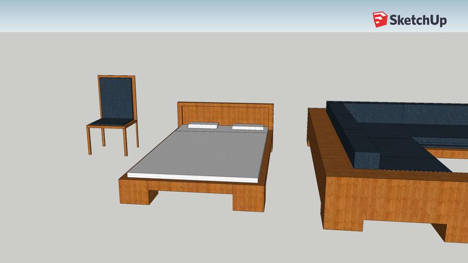 muebles 3D trabajo