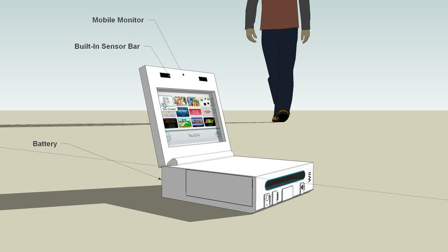 Wii Mobile Monitor