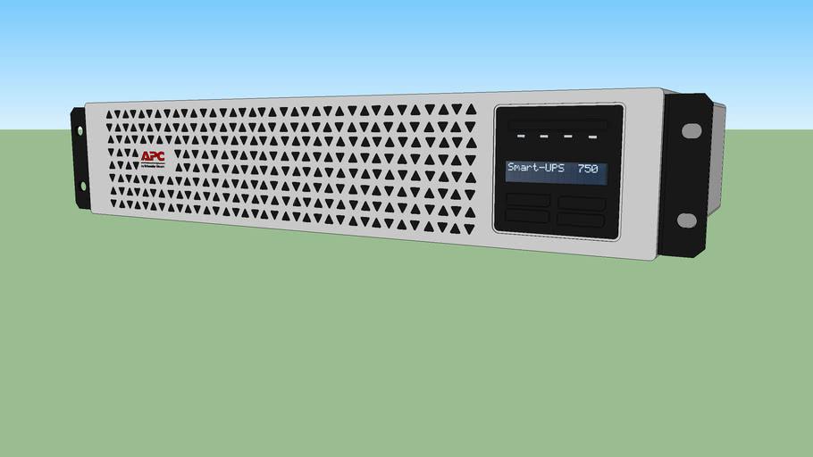 APC SmartUPS Li-Ion, Short Depth (SMTL750RM2UC) rackmount UPS unit