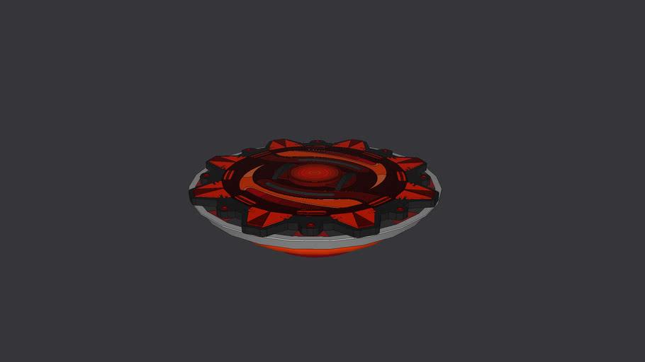 Beyblade hellhound 989