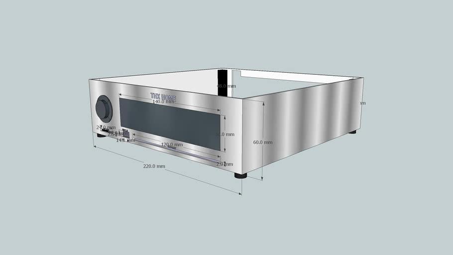 Mini ITX Alu case project