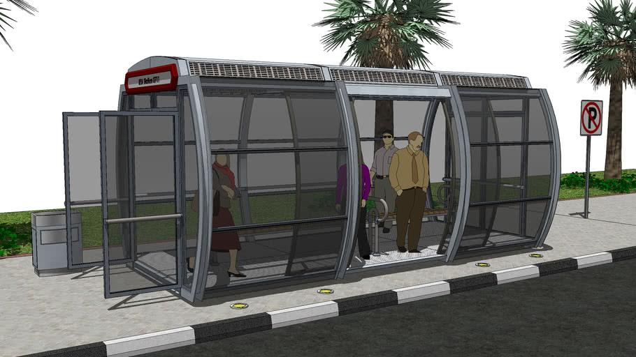 Bus Stop / Waiting Shed - VizualEyes