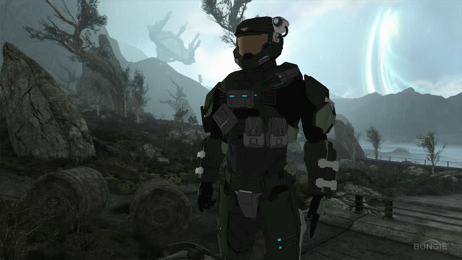 my custom Halo Reach Spartan