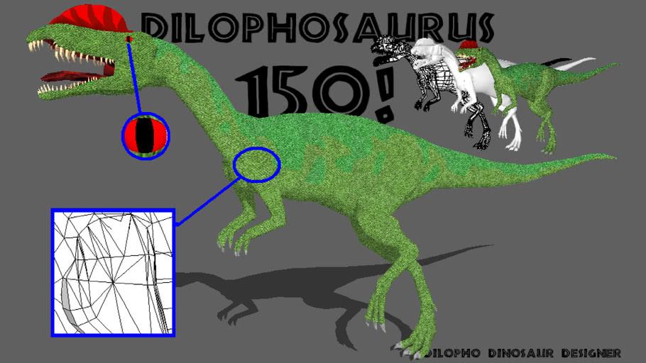 !<>!<>! 150!!! !<>!<>! Dilophosaurus wetherelli