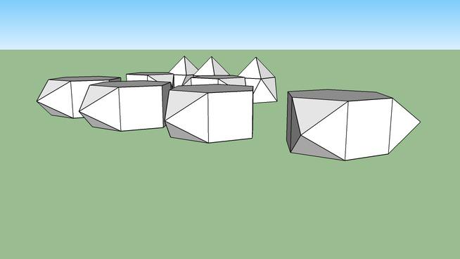 Johnson solids J49~57 (Non-manipulated)