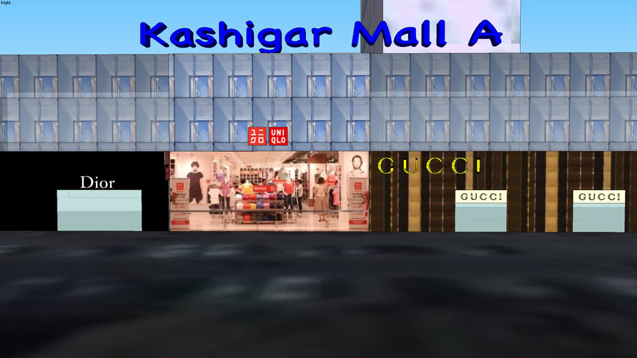 The Mall of Kashigar (Kashi)