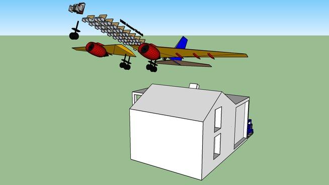 House and Aeroplane