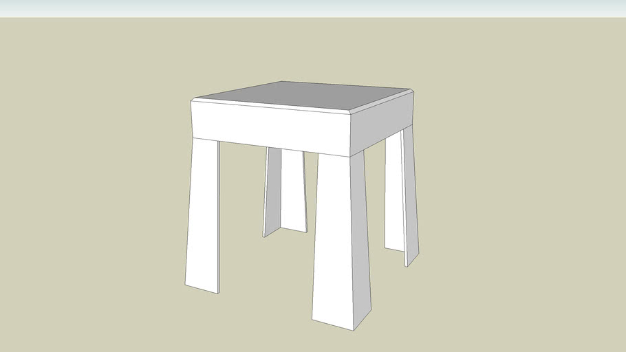 SmallPlasticTable