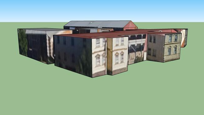 Hoër Meisies Skool Oranje, Building in Bloemfontein, South Africa