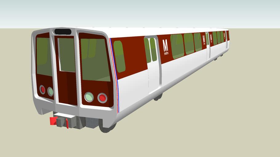 Washington Metrorail Car