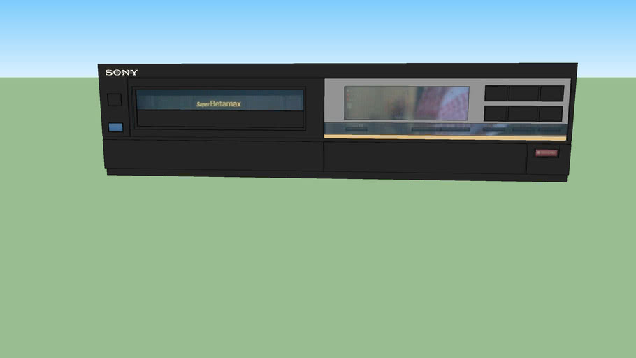 Sony (SL-HF2000) Betamax VCR