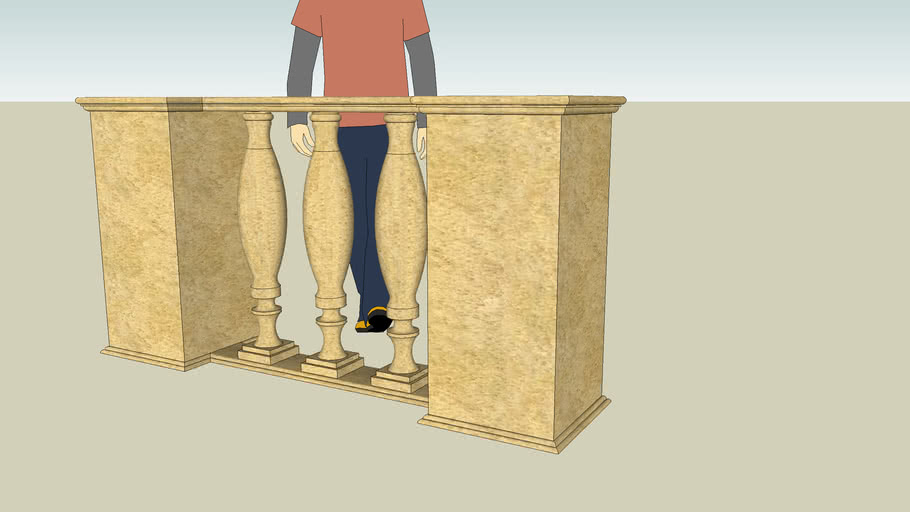 Architectural Component - Balustrade
