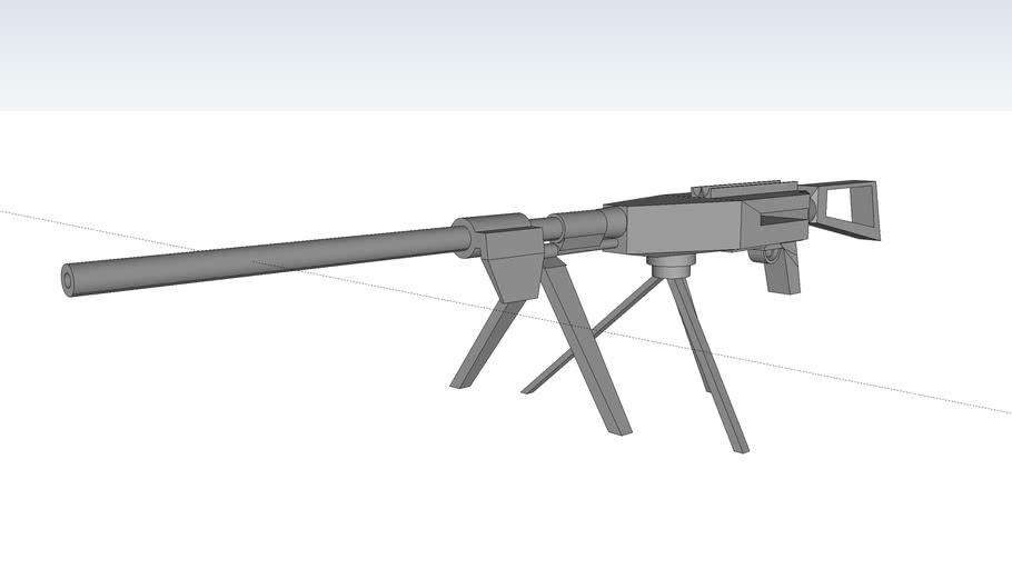 HKMG-7M1 machine gun 7.62x54mm with Tripod