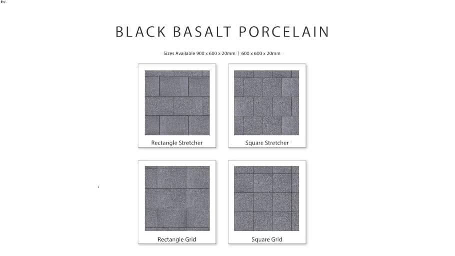 Black Basalt Porcelain