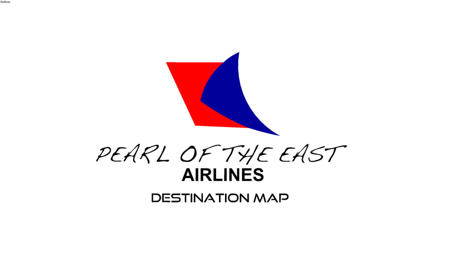 Pearl of the East Airlines Destinations  (MAP AND LIST!)
