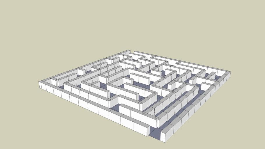3-D Maze #1
