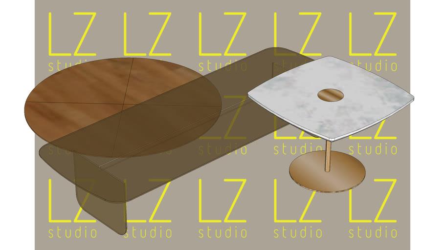 Conjunto de mesas de centro Dolce Vita