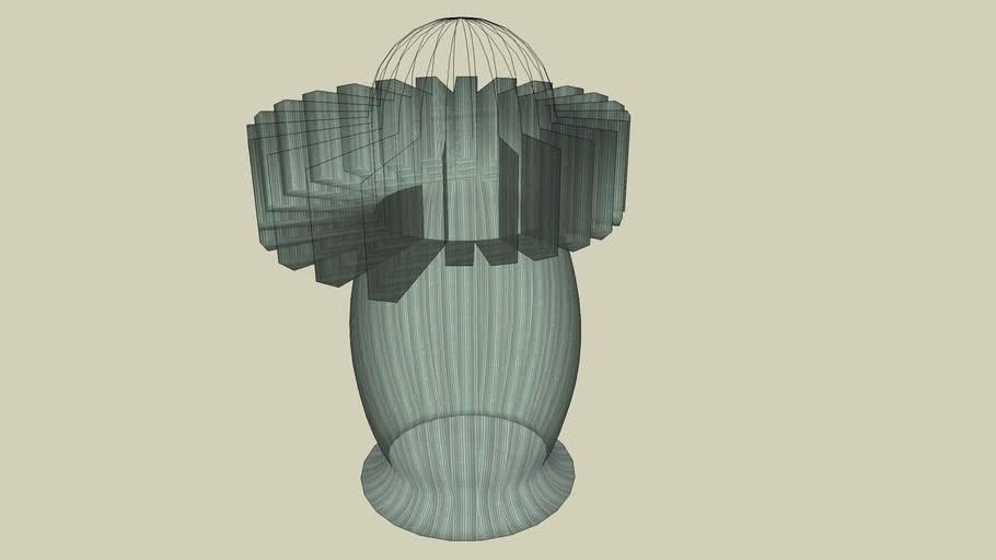 Some Werid Unique Glass Vase