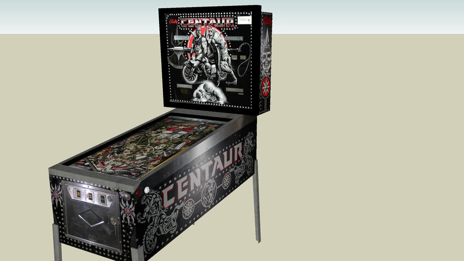 Centaur pinball machine
