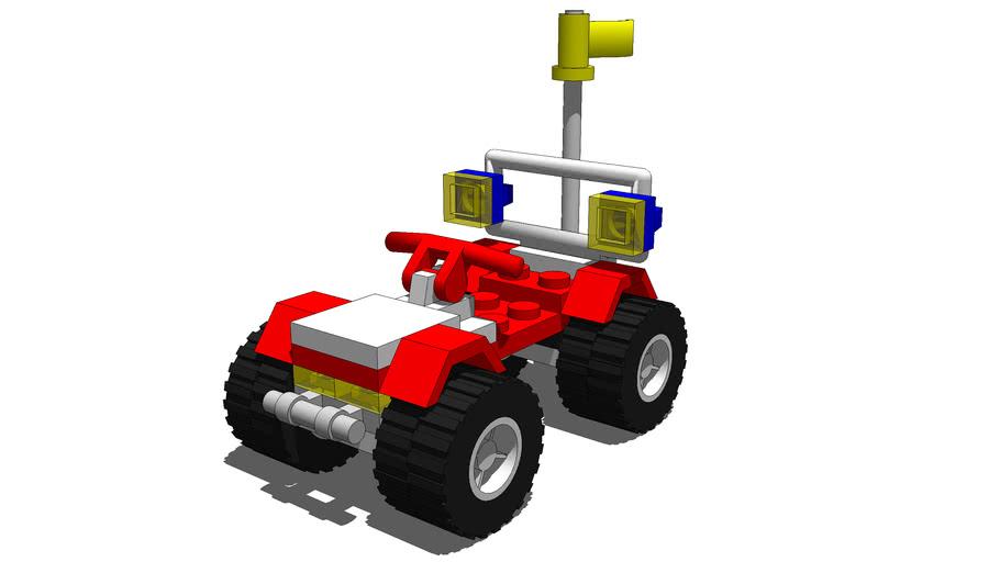 Lego Baywatch Quad Bike