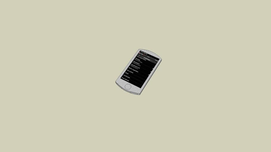 Touchscreen Mobieltje