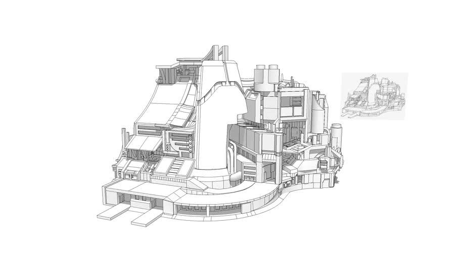 Sci-Fi Industrial Complex