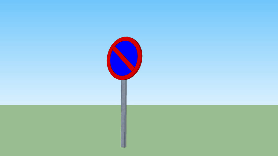 Señal Proibido Estacionar