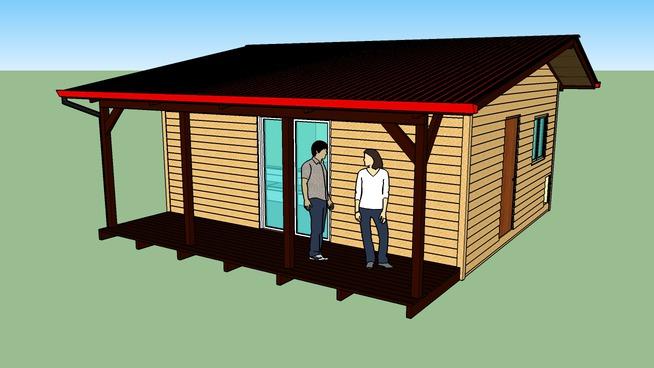 Maison simple 30m²