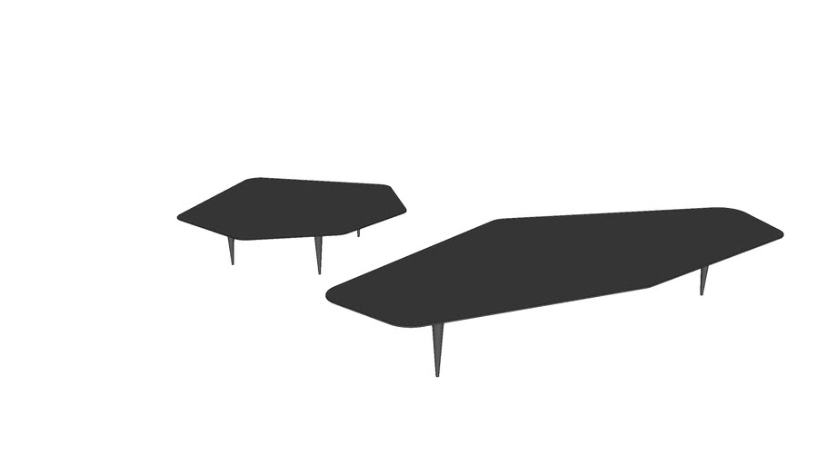 Mesa de Centro Catwalk - Giorgio Bonaguro