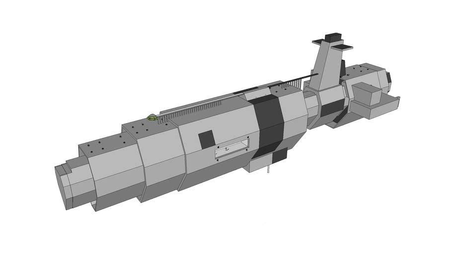 SK-79 Intergalactic Space Cruiser