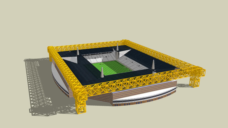 Iron Gurder Stadium Design