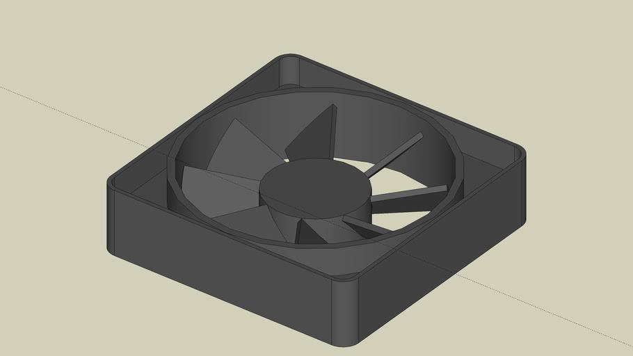 AC or DC Muffin fan 60x60x15mm