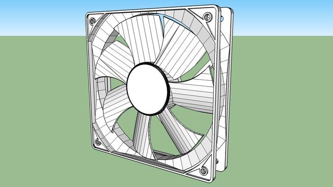 120mm computer fan