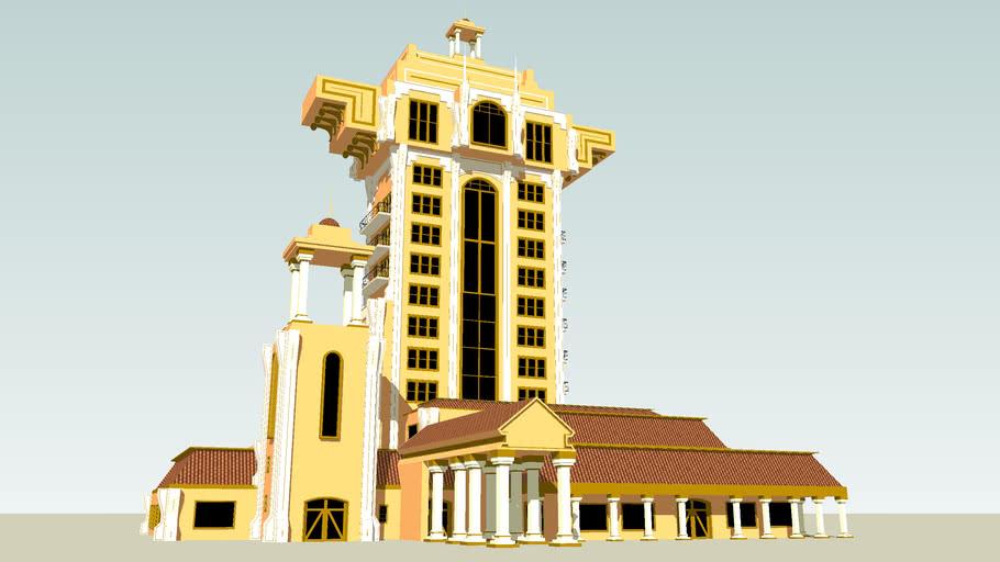 """Tower of Terror Concept : the """"fine"""" facade"""