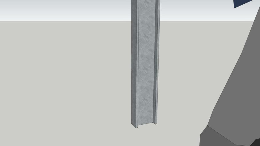 I beam 127 x 76 x 13 Mild Steel