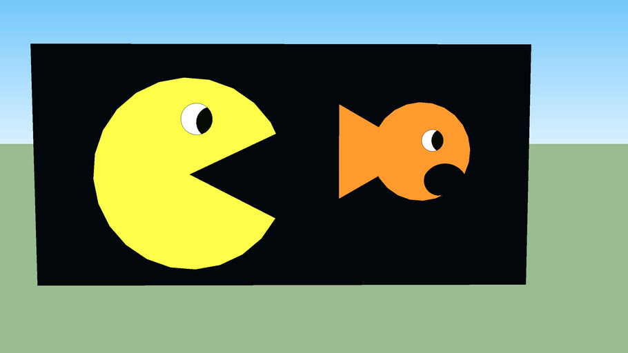 packman vs fish