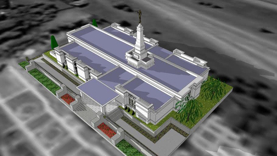 LDS. Temple Edmonton Alberta , Canada. Templo Mormon. 67 th operatin temple.