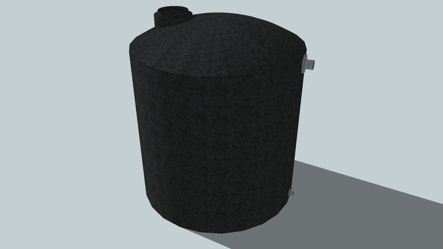 water tank 3000 gallons poly