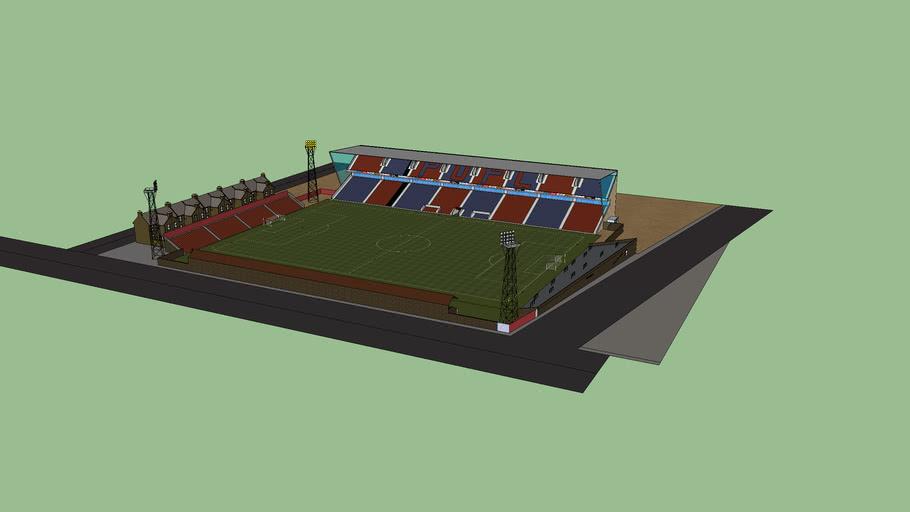 Pittsbury United stadium redevelopment: phase one.