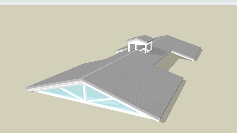 造型雙斜屋頂