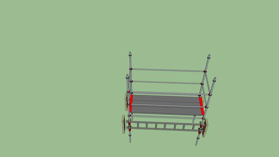 first ladderbeam lift