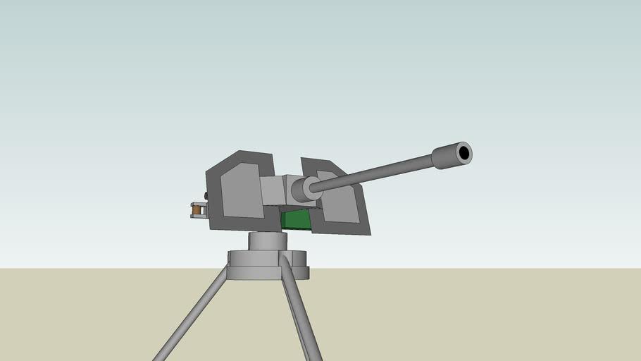turret gun (50 cal.)