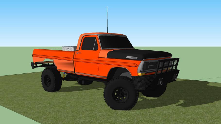 72 ford f250 mud truck