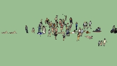 3d people (high quality)