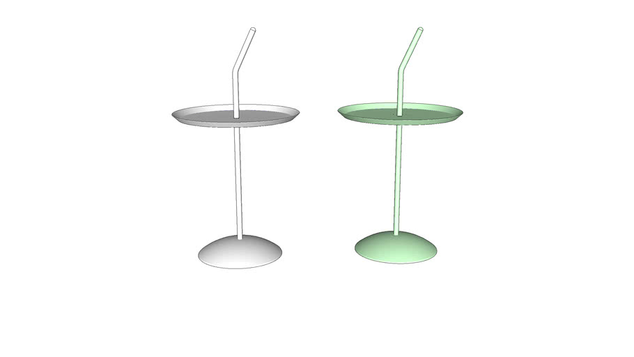 Lotus side table 荷叶茶几2.0