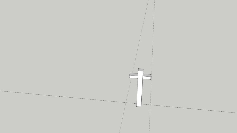 Croix blanche de spicheren (Moselle,France).
