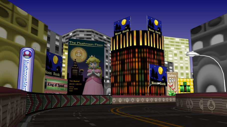Mario Kart Wii courses: Moonview Highway