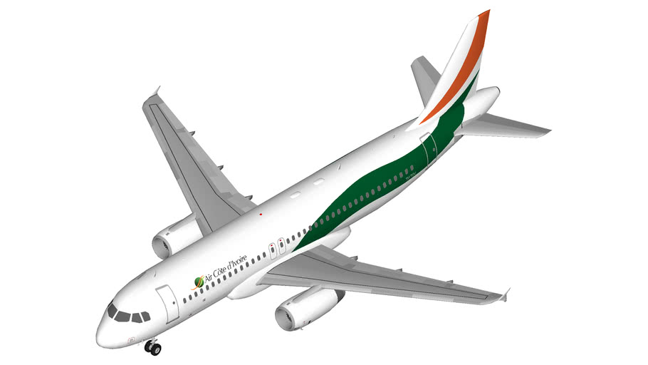 Air Côte d'Ivoire Airbus A320 (winglets) (IAE)
